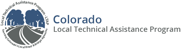 LTAP Colorado Local Technical Assistance Program Logo